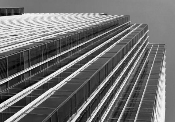 details of modern office building